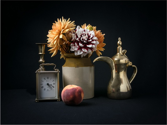 Flowers and Brass