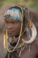 Girl, Mursi Tribe