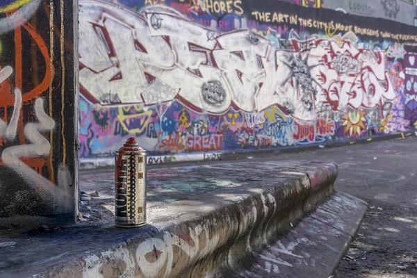 Graffiti Artist's Weapon of Choice