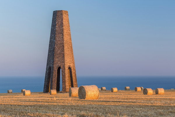 Haybales At The Daymark