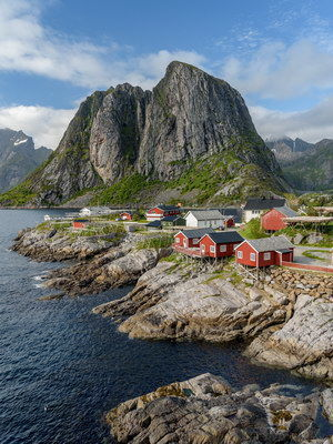 Lofoten fishing huts, Reine