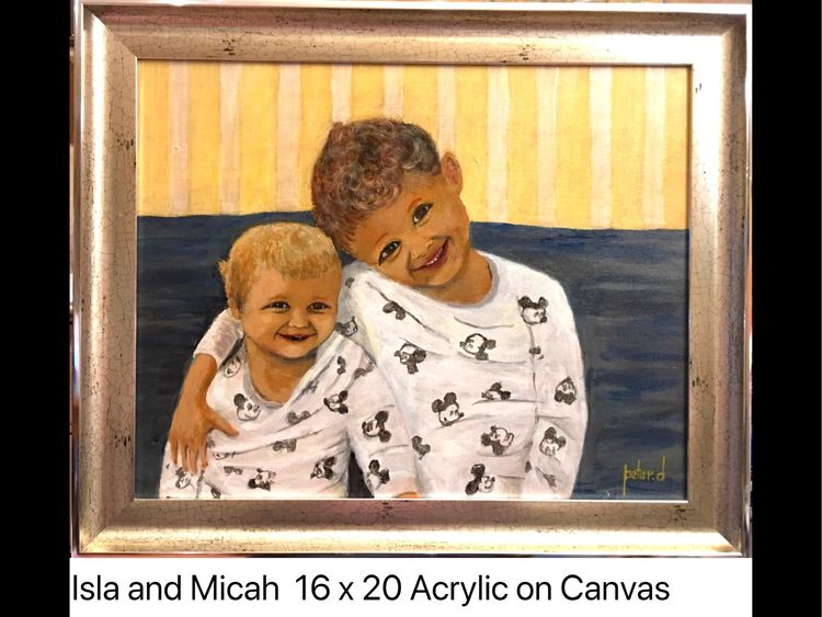 Isla and Micah SOLD
