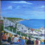 Evita plays the Minack Theatre Cornwall