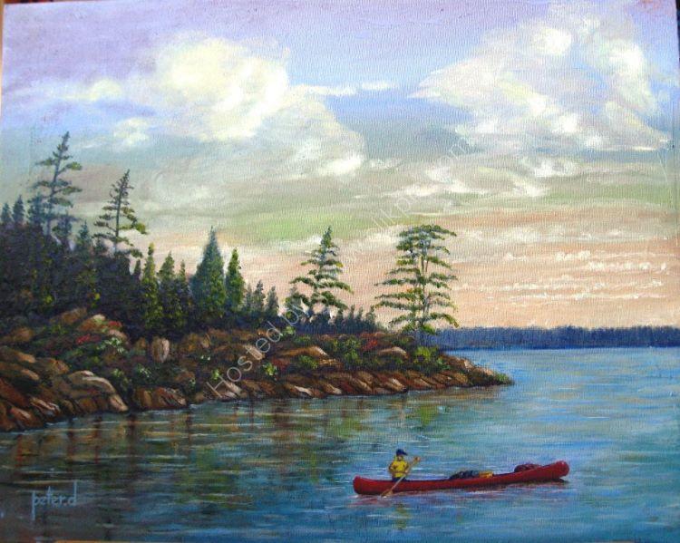 Georgian Bay  Muskoka Canada