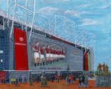 The Theatre of Dreams Old Trafford.