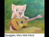 Squiggles, Mia's little friend ORIGINAL SOLD