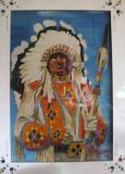 Native American Indian Chief. NFS