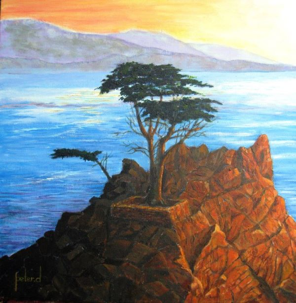 Lone Cypress Monterey Ca  USA