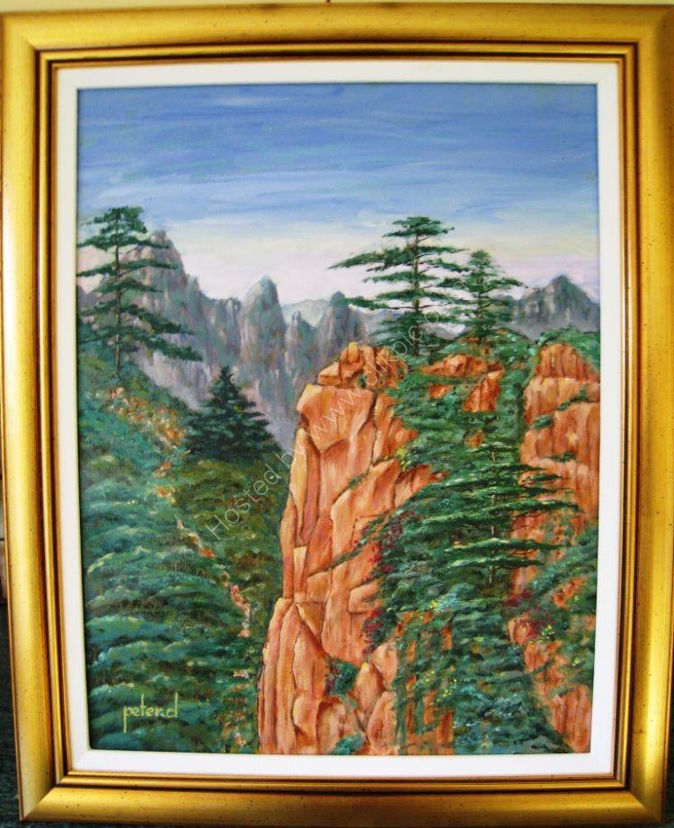 Mount Huangshau China