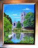 St James the Great 15th century church Gawsworth