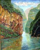 Wu Xia Gorge Yangtse River   ORIGINAL SOLD