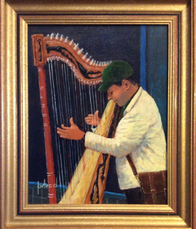 Alti Busker. Classical Harpist