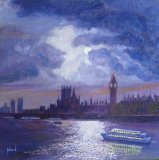 Moonlit Thames