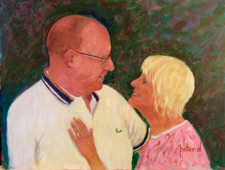 The look of Love, Si and Debbie. NFS