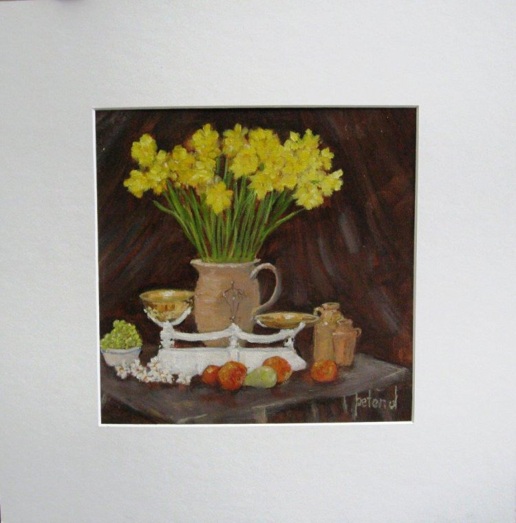 Scales, Fruit and Daffs
