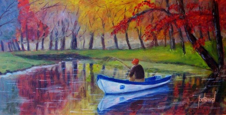 "Gone Fishin' ""tranquillity"""