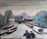 Do you remember when .......Bridgewater Canal, Lymm. ORIGINAL SOLD