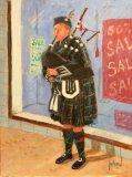Alti Busker. Highland Piper