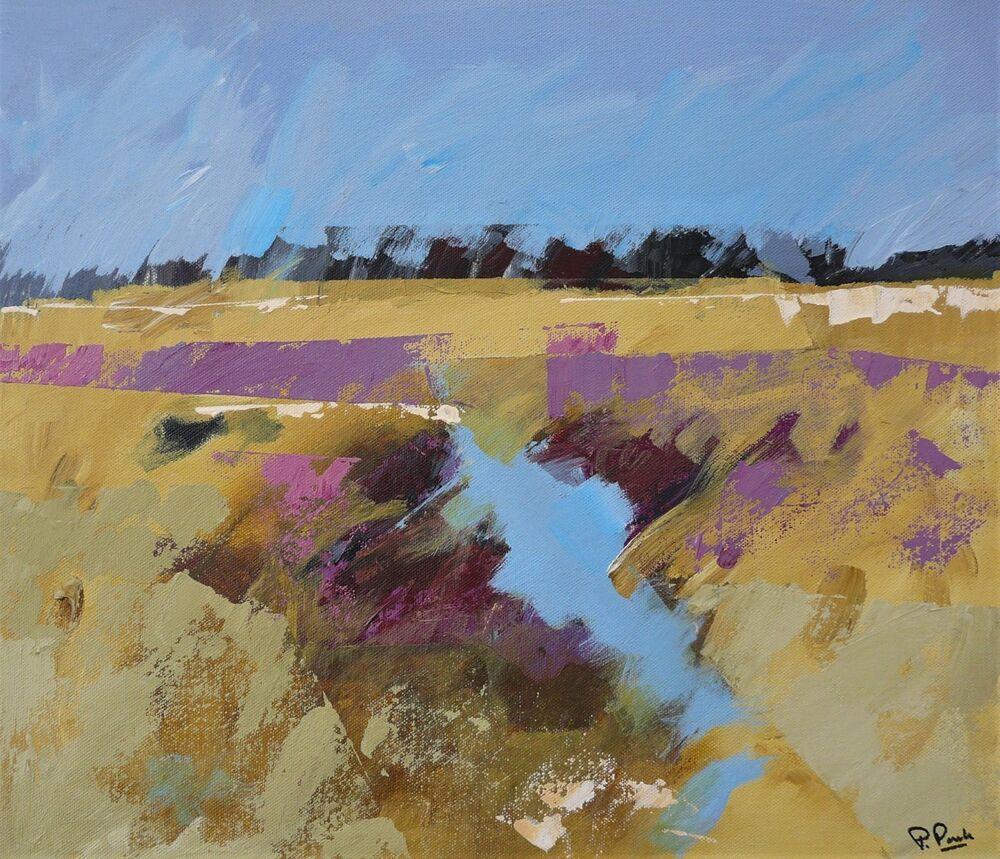 Common land. Acrylic on canvas. 40x45cm