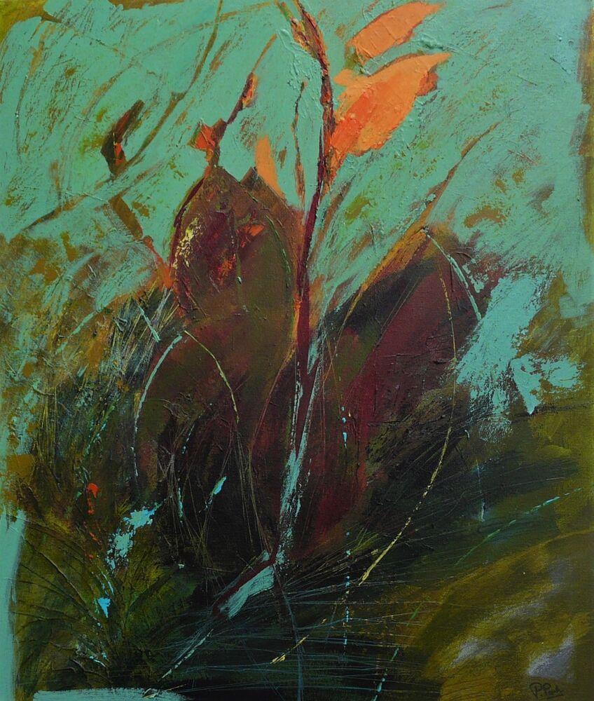 Canna. Acrylic on canvas 50x60cm