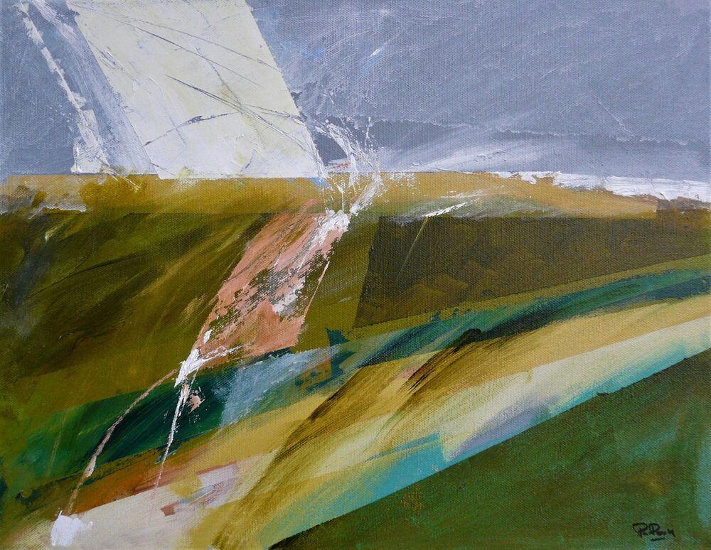 """Twist"" 35x45cm canvas"