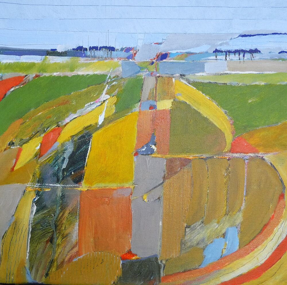 Fields near York#2 30x30cm