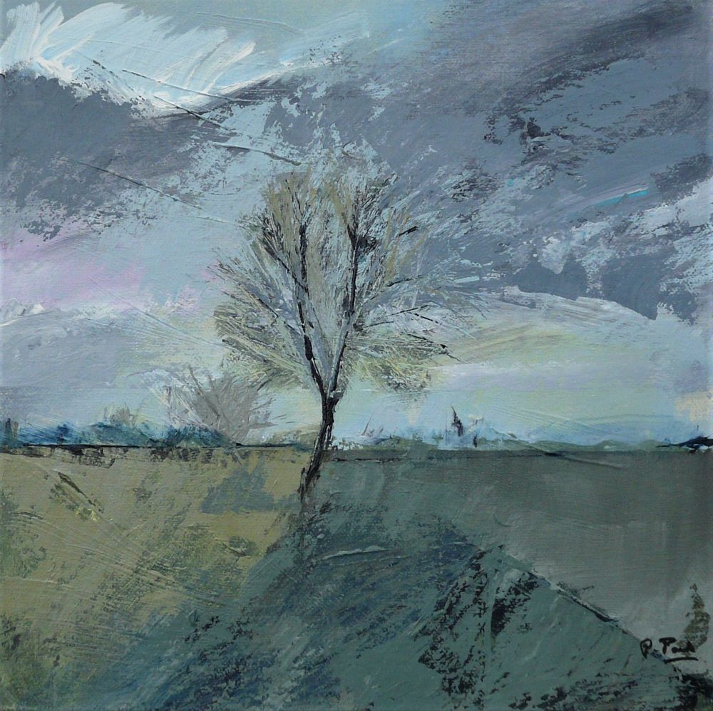 Winter tree. 30x30cm