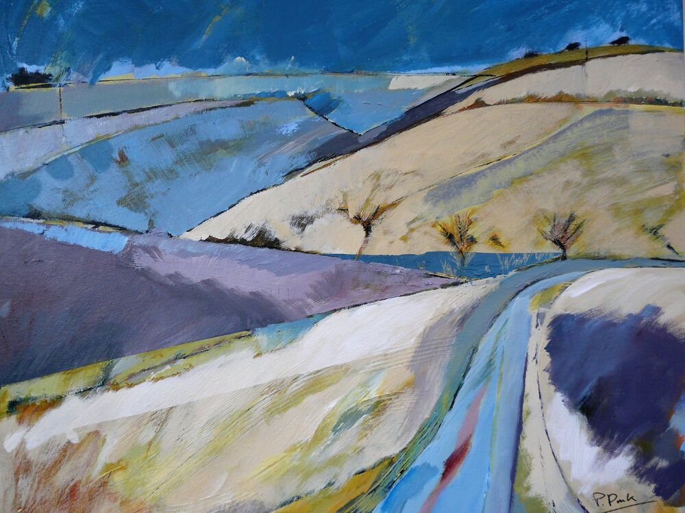 Road through the wolds
