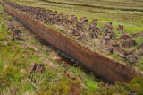 Peat cutting, Committee Road, North Uist