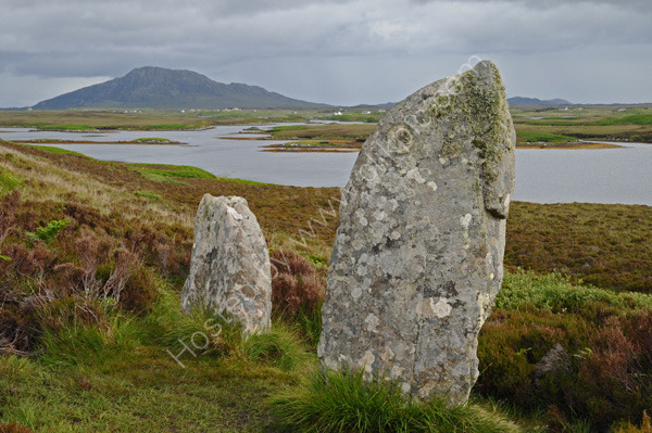 Poball Fhinn stone circle,  North Uist