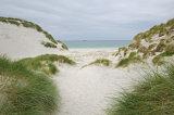 A break in the dunes, Berneray