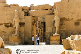 A Temple in the Karnak Complex, Luxor, Egypt