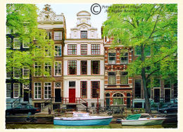 Houses in Amsterdam 1, Holland