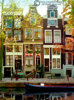 Houses in Amsterdam 2, Holland
