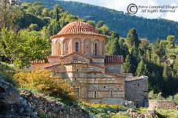 The Church of Ayioi Theodoroi 1, Mystras, Greece