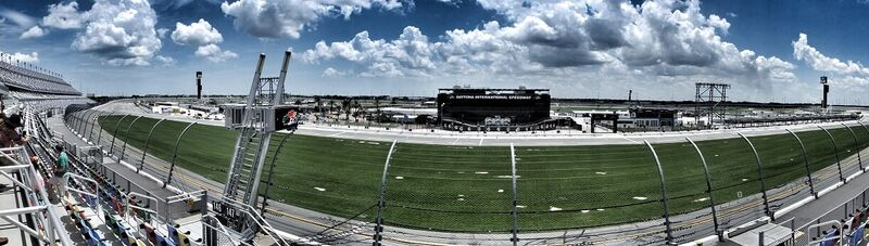 Daytona racetrack, Florida