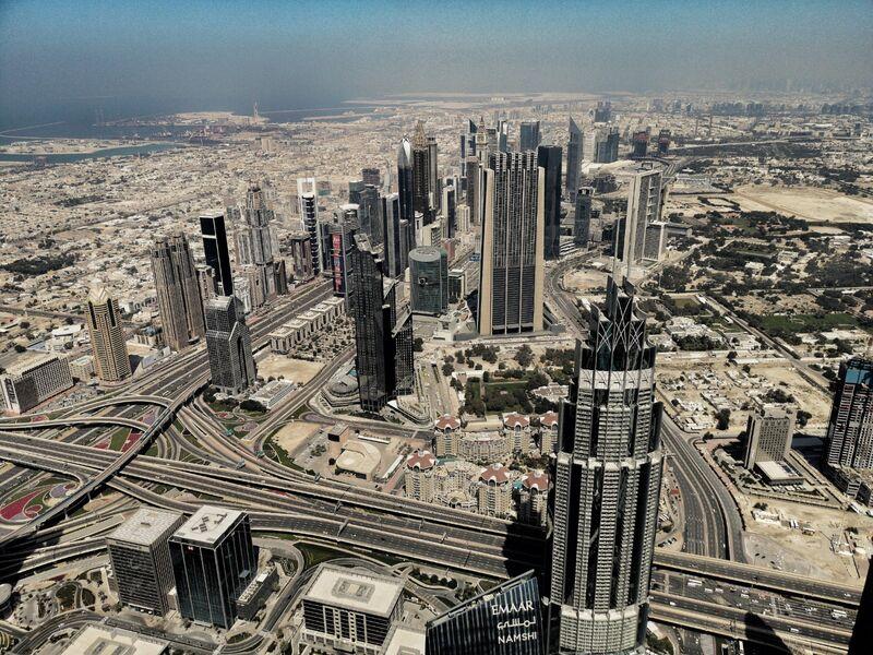 Dubai from the Burj Khalifa