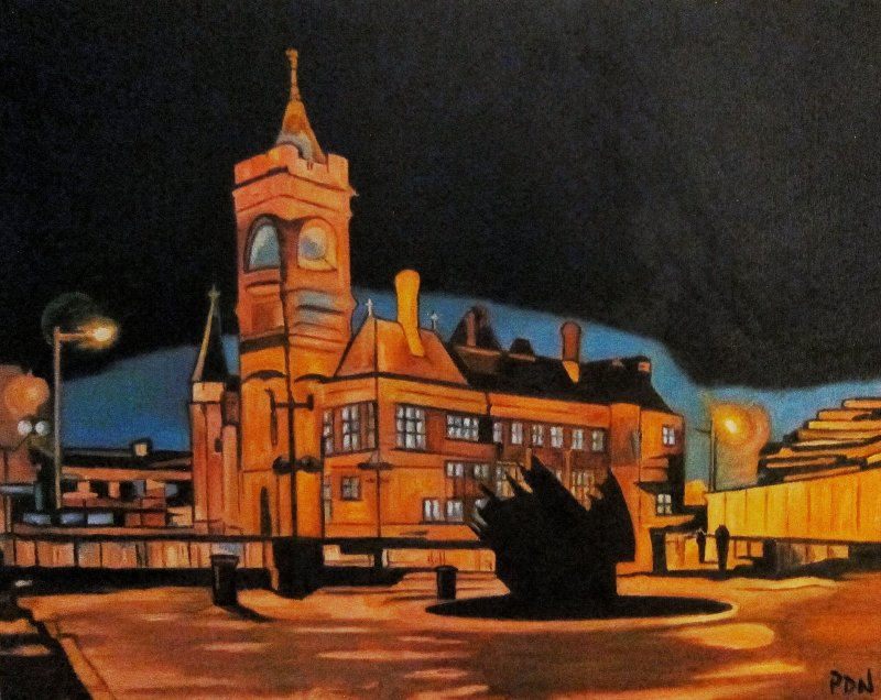 The Pierhead Building, Cardiff Bay
