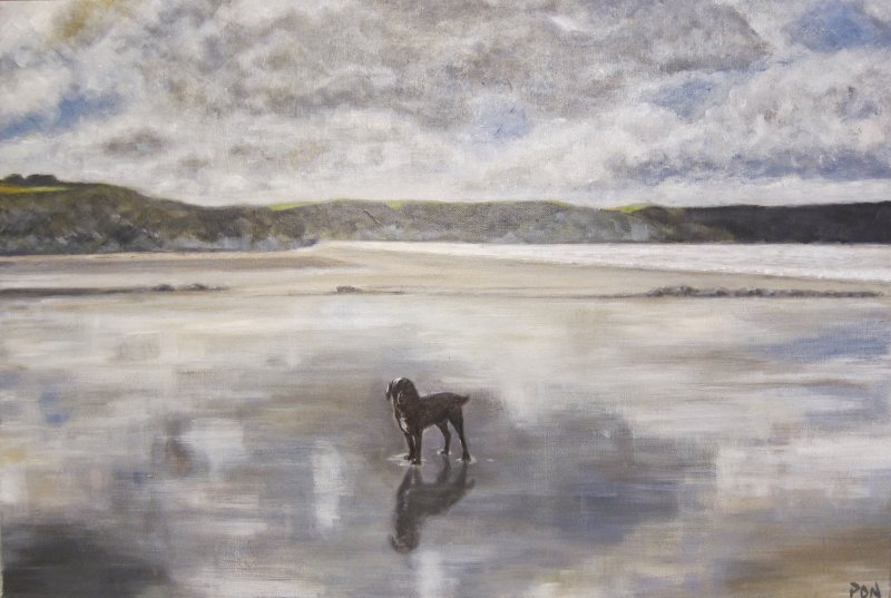 Brooding Broad Haven - NOT FOR SALE