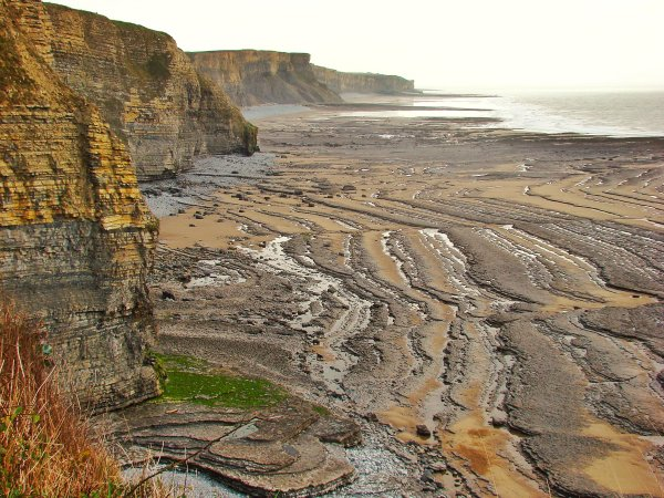 Low tide at Southerndown