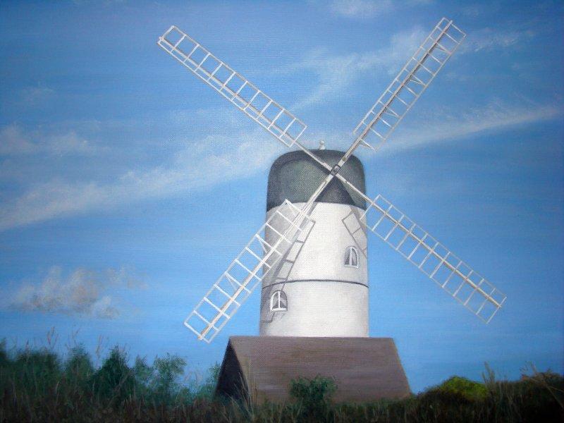 West Dene windmill
