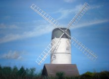 West Dene windmill