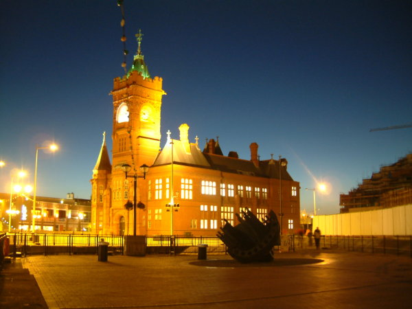 Welsh Assembly Building, Cardiff Bay
