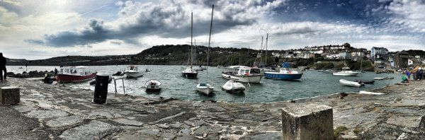 Newquay harbour, Ceredigion