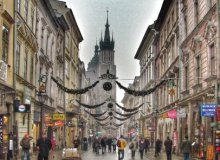 The Royal Way, Krakow Old Town