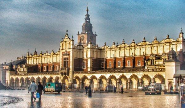 Rynek Glowny, Market Square, Krakow