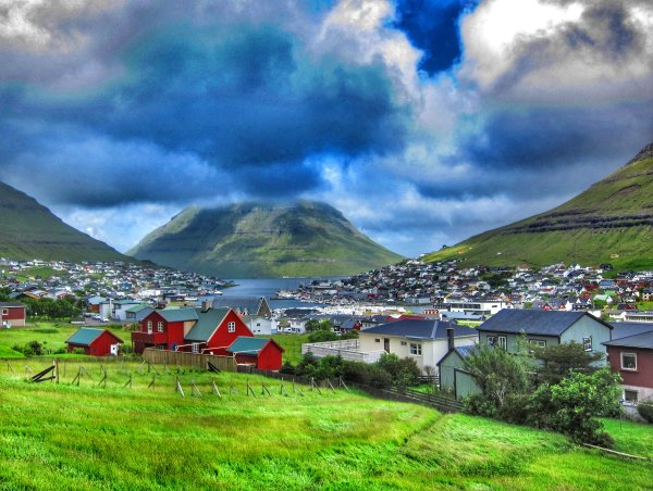 Clouds over Klaksvik