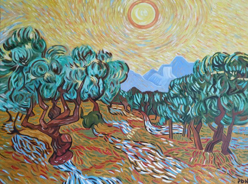 Olive Trees - Van Gogh