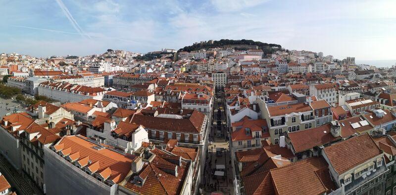 Lisbon roof tops