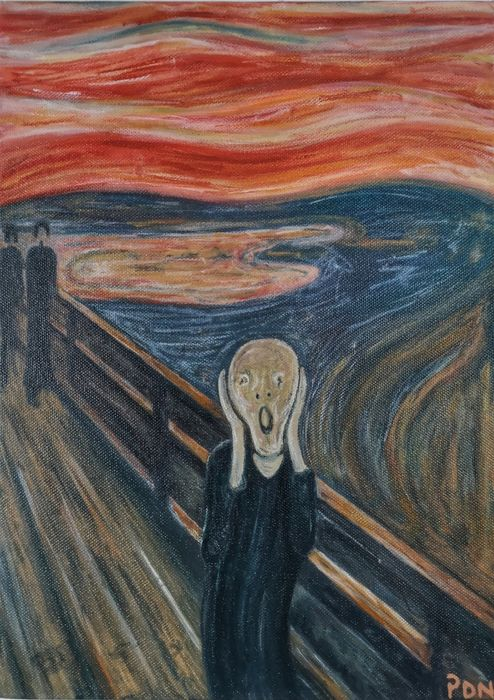 The Scream - Edward Munch
